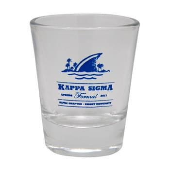 1.5 oz. Clear Custom Shot Glass