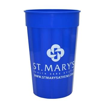 22 Oz. Fluted Stadium Plastic Cup