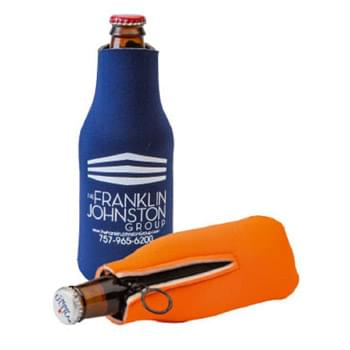 FoamZone Zippered Bottle Cooler