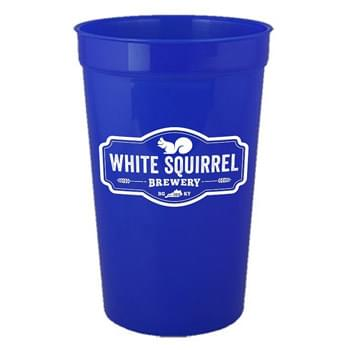 17 oz. Tall Smooth Plastic Stadium Cup