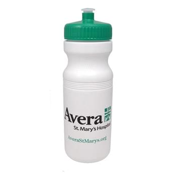 24 oz. Sports Bottle with Push Pull Lid