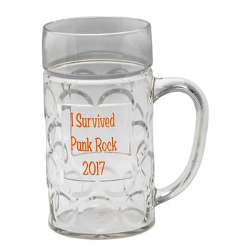 16 oz. Dimpled German Beer Stein